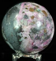 "Buy 2"" Polished Cobaltoan Calcite Sphere - Congo - #63895"