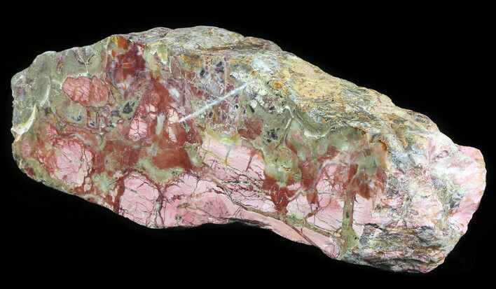 "14.6"" Polished Brecciated Pink Opal - Western Australia"