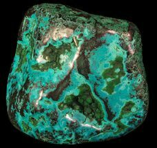 "2.7"" Polished Malachite and Chrysocolla - Congo For Sale, #64634"