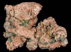 "Buy 4.5"" Natural, Native Copper Formation - Michigan - #65248"