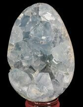 "3.2"" Crystal Filled Celestite ""Egg"" - Madagascar For Sale, #66107"