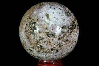 "Buy 2.6"" Unique Ocean Jasper Sphere - Madagascar - #67561"