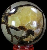 "Buy 2.4"" Polished Septarian Sphere - Madagascar - #67843"