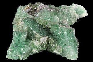 "1.45"" Green Fluorite & Druzy Quartz - Colorado For Sale, #33380"