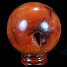 Quartz var Carnelian Agate - Fossils For Sale - #70926