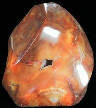 "Buy 5.9"" Carnelian Agate Flame Sculpture - #71458"
