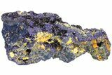 "8.3"" Amazing Azurite Cluster From Laos - Check Out Video! - #50779-2"