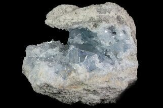 "Buy 5.9"" Blue Celestite Crystal Geode - Madagascar - #70828"