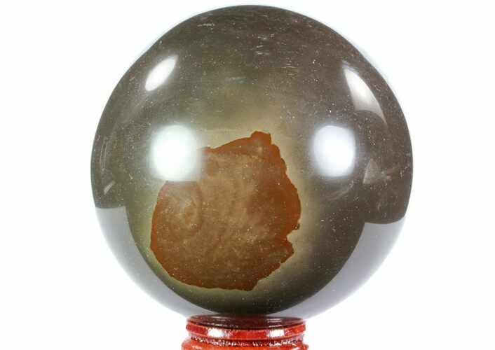 "2.75"" Polished Polychrome Jasper Sphere - Madagascar"