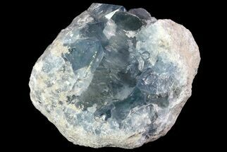 "Buy 5"" Blue Celestite Crystal Geode - Madagascar - #70831"