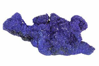 "Buy 2"" Sparkling Azurite Crystal Cluster - Morocco - #73447"