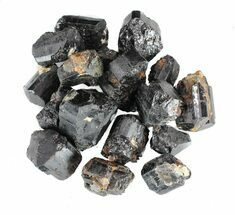 Buy Bulk Black Schorl Tourmaline - 8 ounces - #75637