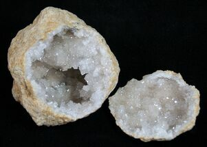 "2"" Quartz Geodes From Morocco - 3 Pack For Sale, #75722"