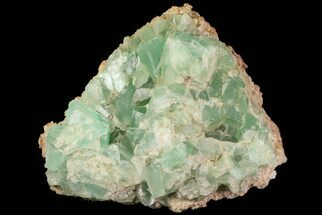"Buy 5.3"" Wide Plate of Green Fluorite - New Hampshire - #76540"
