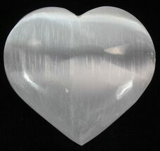 "Buy Wholesale Box: 2-1/4"" Selenite Hearts - 100 Pieces - #77365"
