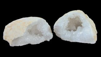 "Wholesale Lot: 1 3/4"" to 2 1/2 Sparkling Quartz Geodes - 65 Geodes For Sale, #77621"