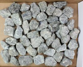 "Buy Lot: 2-3"" Raw, Unpolished Labradorite - 5kg (11 lbs) - #78016"