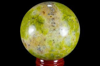"Buy 2.3"" Polished Green Opal Sphere - Madagascar - #78772"