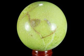 "Buy 2.7"" Polished Green Opal Sphere - Madagascar - #78775"