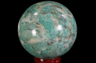 "2.5"" Polished Amazonite Crystal Sphere - Madagascar For Sale, #78734"