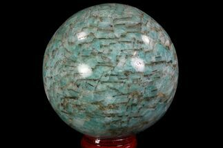 "Buy 2.7"" Polished Amazonite Crystal Sphere - Madagascar - #78745"