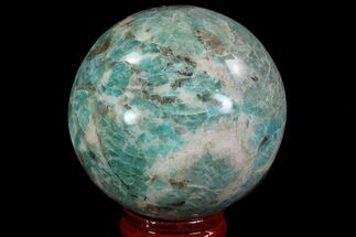 "Buy 2.2"" Polished Amazonite Crystal Sphere - Madagascar - #78748"