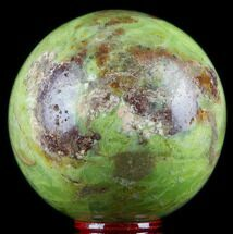 "Buy 2.7"" Polished Green Opal Sphere - Madagascar - #78760"
