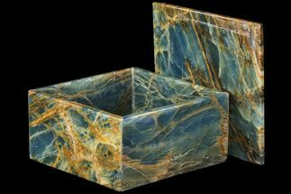 "Buy 6"" Wide Blue Calcite Jewelry Box  - #79210"