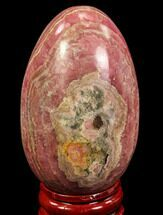 "2.6"" Polished Rhodochrosite Egg - Argentina For Sale, #79256"