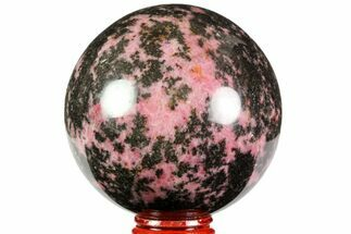 "Buy Beautiful, 2.9"" Rhodonite Sphere - Madagascar - #78790"
