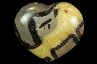 "2.9"" Polished Septarian ""Heart""  For Sale, #82010"