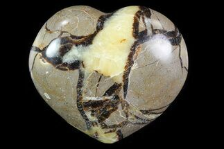 "2.9"" Polished Septarian Heart For Sale, #82055"