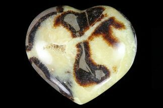 "Buy 3.5"" Polished Septarian Heart - #82027"
