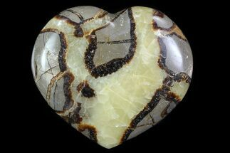 "Buy 3.3"" Polished Septarian Heart - #82036"