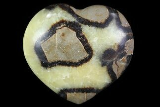 "2.9"" Polished Septarian ""Heart""  For Sale, #82061"