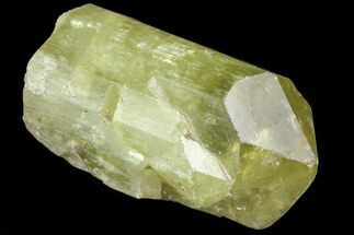 "1.1"" Lustrous Yellow Apatite Crystal - Morocco For Sale, #82412"