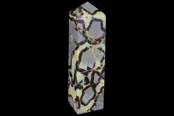 "8.7"" Polished Septarian Obelisk - Madagascar"