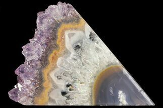 Quartz var. Amethyst  - Fossils For Sale - #83505