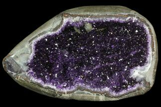 "Buy 12.8"" Purple Amethyst Geode - Uruguay - 31 Pounds - #83539"