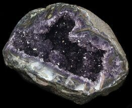 "15"" Amethyst Crystal Geode - 28 pounds For Sale, #37733"