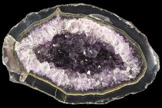 Quartz var. Amethyst - Fossils For Sale - #87450
