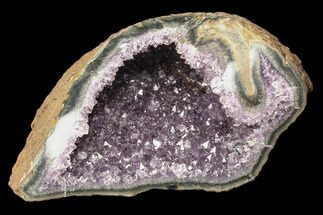 "7"" Purple Amethyst Geode - Uruguay For Sale, #87413"
