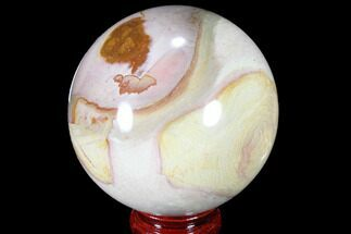 "Buy 3.4"" Polished Polychrome Jasper Sphere - Madagascar - #87700"