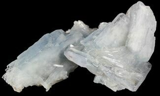 "Buy 2.4"" Tabular, Blue Barite Crystal Cluster - Spain - #55300"