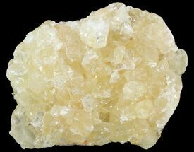 "3.3"" Fluorescent Calcite Geode - Morocco For Sale, #89606"