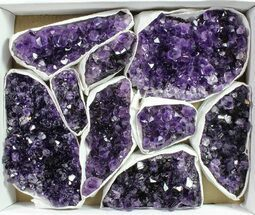Quartz var. Amethyst - Fossils For Sale - #90126