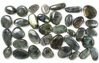 Buy Wholesale Box: Polished Labradorite Pebbles - 1 kg (2.2 lbs) - #90439