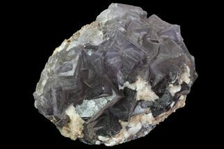 Fluorite and Calcite - Fossils For Sale - #90645