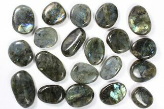 Buy Wholesale Box: Polished Labradorite Pebbles - 1 kg (2.2 lbs) - #90469