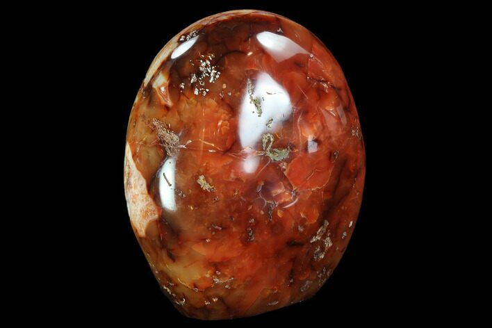 "5.3"" Tall, Free-Standing, Carnelian Agate - Madagascar"